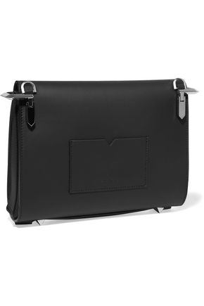 EDDIE BORGO Boyd matte-leather clutch