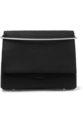 EDDIE BORGO Boyd large matte-leather clutch