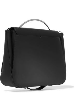 EDDIE BORGO Pepper Saddle matte-leather shoulder bag