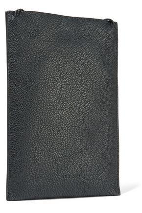 THE ROW Medicine embellished textured-leather shoulder bag