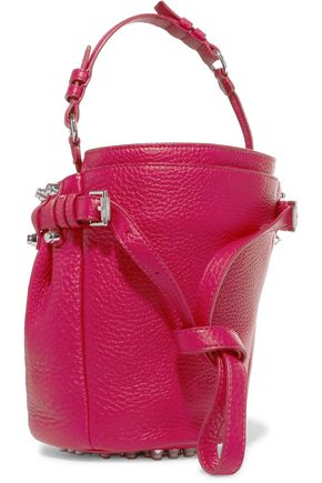 ALEXANDER WANG Diego small textured-leather shoulder bag