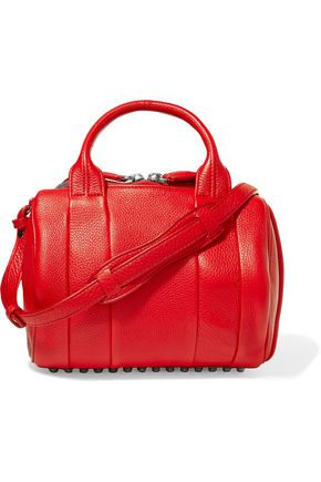 ALEXANDER WANG Rockie Cult mini textured-leather shoulder bag