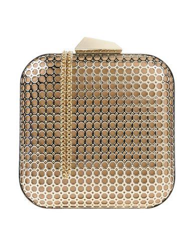 OLGA BERG レディース ハンドバッグ ベージュ 金属 / 紡績繊維