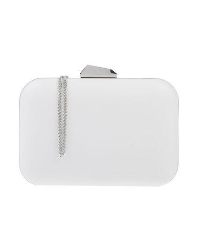 OLGA BERG レディース ハンドバッグ ホワイト 金属 / 紡績繊維