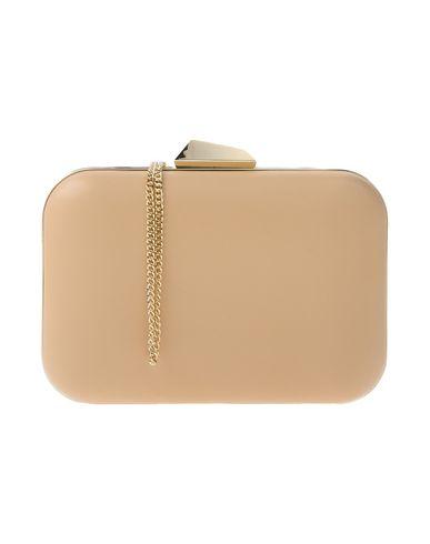 OLGA BERG レディース ハンドバッグ サンド 金属 / 紡績繊維