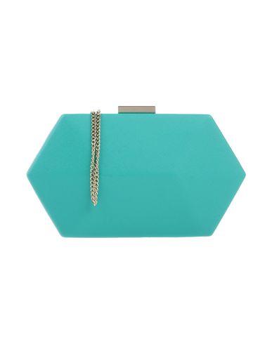 OLGA BERG レディース ハンドバッグ ターコイズブルー 紡績繊維