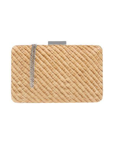 OLGA BERG レディース ハンドバッグ ベージュ 紡績繊維