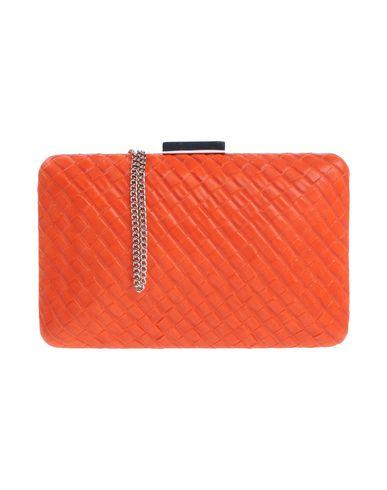 OLGA BERG レディース ハンドバッグ オレンジ 紡績繊維