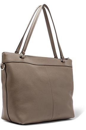 COACH Tyler textured-leather tote