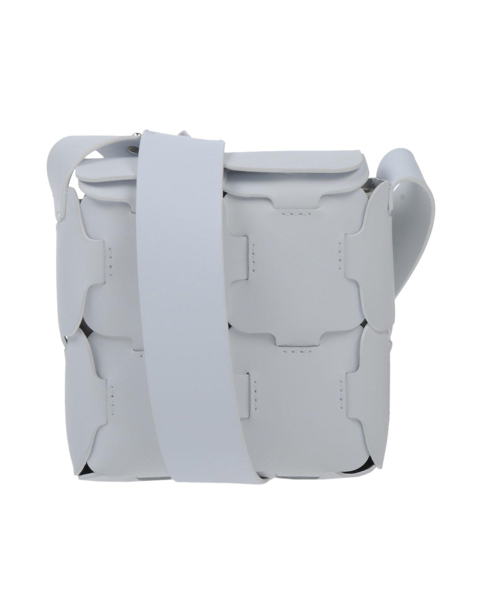 PACO RABANNE Damen Schultertasche Farbe Weiß Größe 1