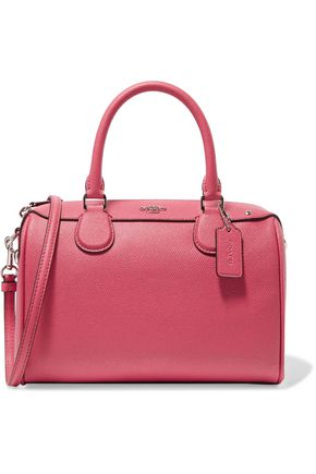 COACH Mini Bennett textured-leather tote