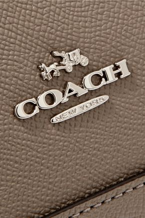 COACH Sierra textured-leather tote