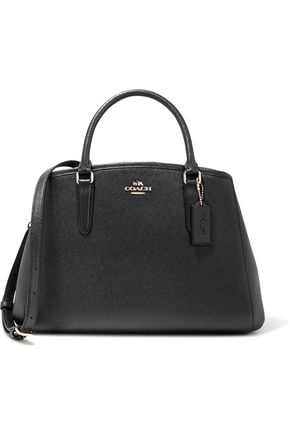COACH Margot textured-leather tote