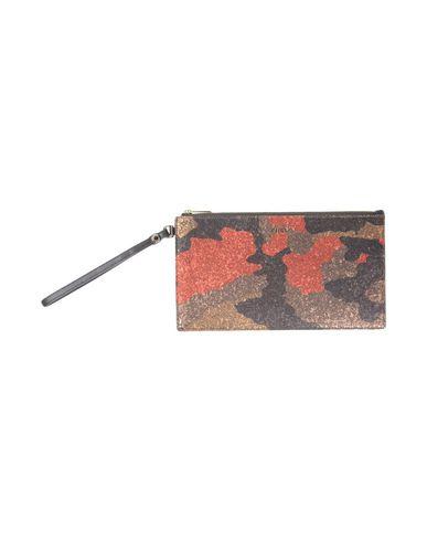 FURLA レディース ハンドバッグ ダークブラウン 革 100% / 紡績繊維