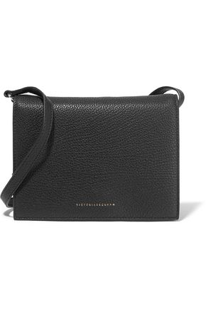 VICTORIA BECKHAM Star textured-leather shoulder bag