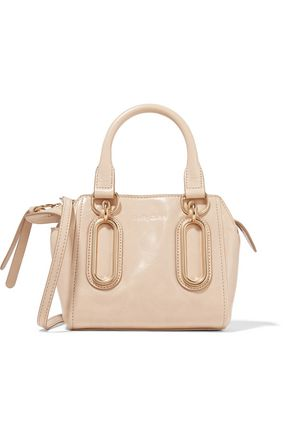 SEE BY CHLOÉ Paige mini washed-leather shoulder bag