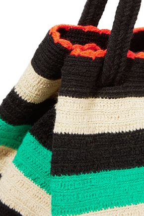 SOPHIE ANDERSON Caro crocheted cotton shoulder bag