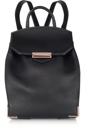 ALEXANDER WANG Prisma textured-leather backpack