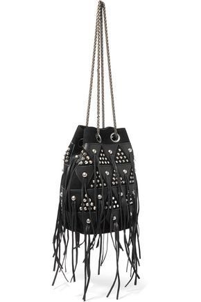JÉRÔME DREYFUSS Popeye quilted leather bucket bag
