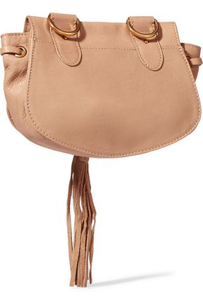 SEE BY CHLOÉ Collins medium textured-leather shoulder bag