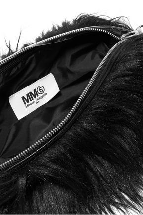 MM6 by MAISON MARGIELA Faux fur clutch