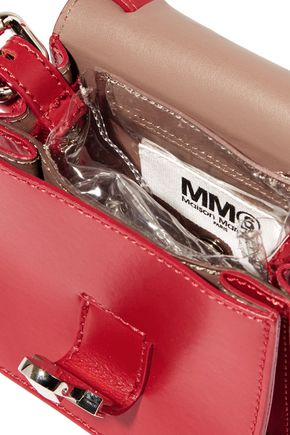 MM6 by MAISON MARGIELA Small leather shoulder bag