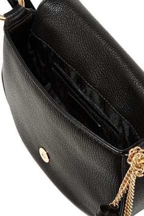 MICHAEL MICHAEL KORS Elyse medium textured-leather shoulder bag
