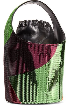 TOM FORD Miranda mini sequined leather bucket bag