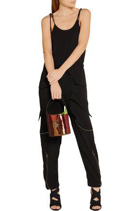 TOM FORD Miranda mini sequined leather bucket bag