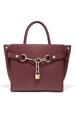 ALEXANDER WANG Attica glossed-leather tote
