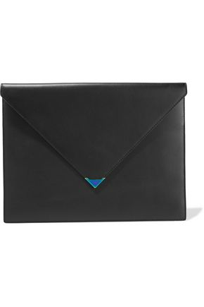 ALEXANDER WANG Prisma leather clutch