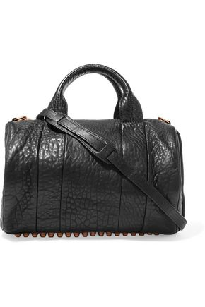 ALEXANDER WANG Rocco textured-leather shoulder bag