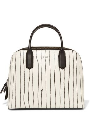DKNY Twine printed leather tote