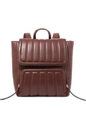 DKNY Quilted leather backpack