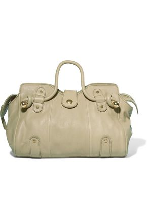 SEE BY CHLOÉ Dixie textured-leather tote