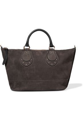 SEE BY CHLOÉ Janis large nubuck tote