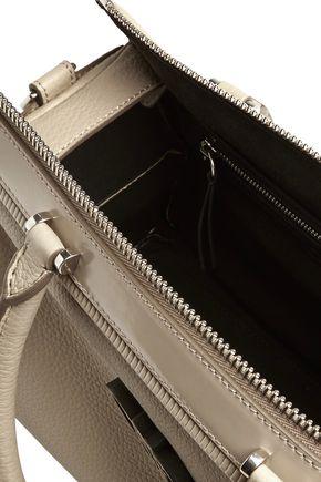 EMILIO PUCCI Textured-leather shoulder bag