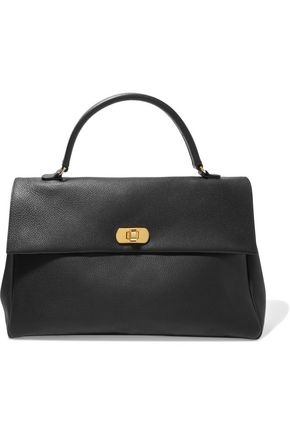 MARNI Textured-leather tote