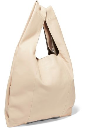 BRUNELLO CUCINELLI Embellished leather tote