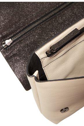 BRUNELLO CUCINELLI Metallic two-tone textured-leather tote