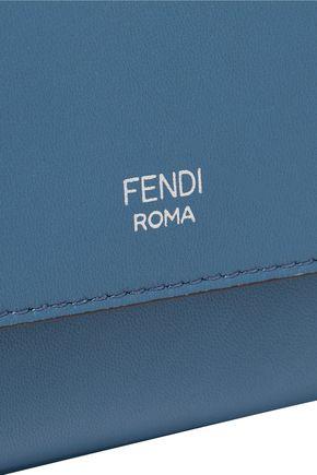 FENDI Double Baguette micro leather shoulder bag