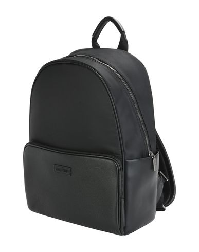 CARLO PAZOLINI レディース バックパック&ヒップバッグ ブラック 革 / 紡績繊維