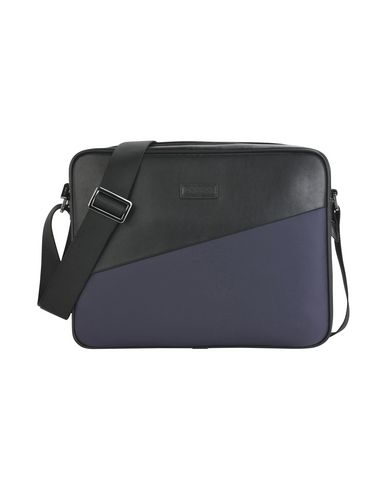 CARLO PAZOLINI レディース ブリーフケース ダークブルー 革 / 紡績繊維