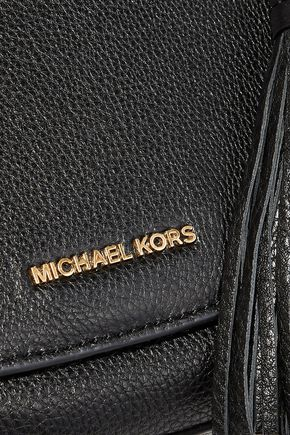 MICHAEL MICHAEL KORS Elyse medium textured-leather shoulder bag