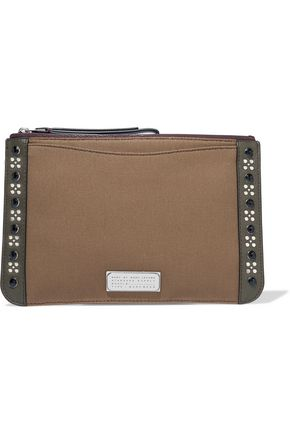 MARC BY MARC JACOBS The Roxy 28 embellished cotton clutch