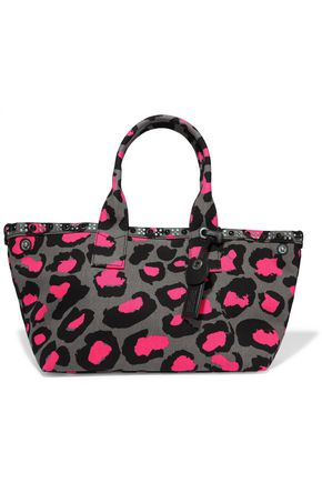 MARC BY MARC JACOBS Leopard-print cotton-canvas tote