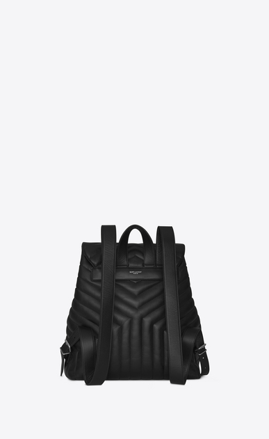 SAINT LAURENT Monogramme Loulou Damen medium loulou rucksack in schwarz b_V4