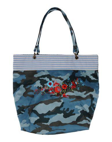 GRAZIA'LLIANI レディース ハンドバッグ ディープジェード 紡績繊維