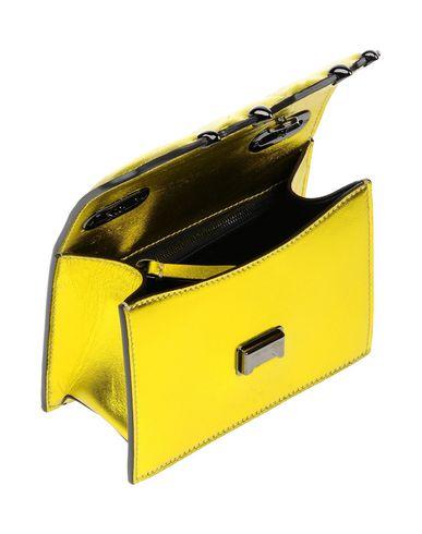 Фото 2 - Сумку на руку от MARCO DE VINCENZO желтого цвета