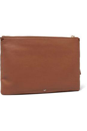 ANYA HINDMARCH Georgiana printed leather clutch